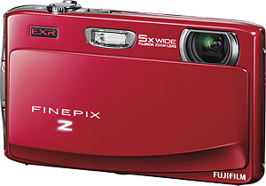 Fujifilm's FinePix Z900 EXR digital camera. Photo provided by Fujifilm UK Ltd. Click for a bigger picture!