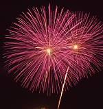 Amana Fireworks, copyright (c) 1999, 2000 Michael R. Tomkins.  All rights reserved. Click for a bigger picture!