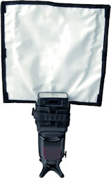 The Rogue FlashBender Large Positionable Reflector. Photo provided by ExpoImaging Inc. Click for a bigger picture!