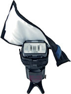 The Rogue FlashBender Small Positionable Reflector. Photo provided by ExpoImaging Inc. Click for a bigger picture!