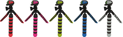 Rollei's Flexipod 300 tripod is available in a variety of colors. Photo provided by Rollei. Click for a bigger picture!