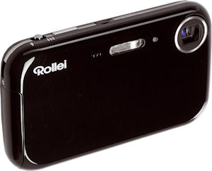 Rollei's Flexline 100 inINTOUCH digital camera. Photo provided by Rollei GmbH. Click for a bigger picture!