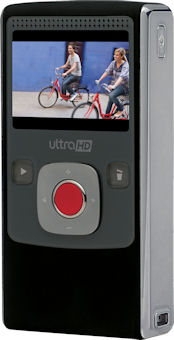 The new Flip UltraHD camcorder by Pure Digital Technologies. Photo and caption provided by Pure Digital Technologies. Click for a bigger picture!