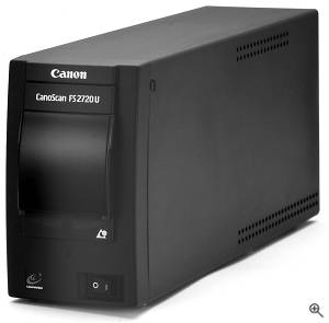 Canon's CanoScan FS2720U film scanner. Courtesy of Canon USA Inc. Click for a bigger picture!