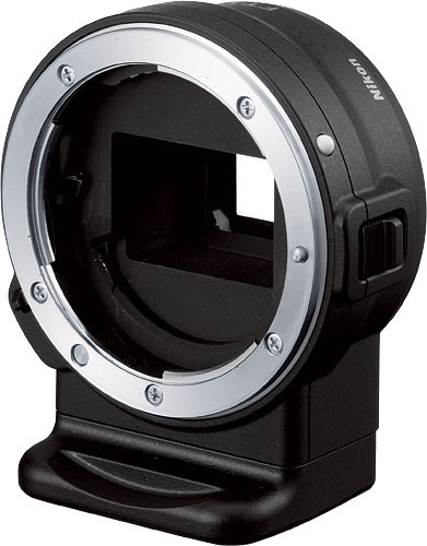 Nikon's FT1 Mount Adapter. Photo provided by Nikon Corp. Click for a bigger picture!