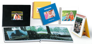 Photobooks created with Fujifilm's Order Terminal Plug-in software. Courtesy of Fujifilm, with modifications by Michael R. Tomkins. Click for a bigger picture!