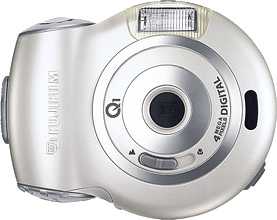 Fujifilm's Q1 DIGITAL 4.0 Ir digital camera. Courtesy of Fujifilm, with modifications by Michael R. Tomkins.