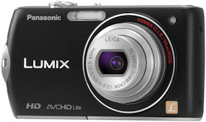 Panasonic's Lumix DMC-FX75 digital camera. Photo provided by Panasonic Consumer Electronics Co. Click for a bigger picture!