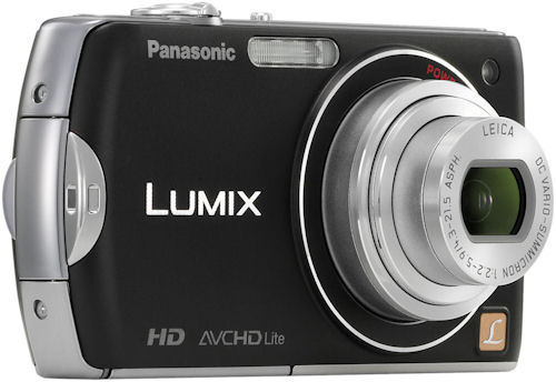 The Panasonic LUMIX FX75 digital camera. Photo provided by Panasonic Consumer Electronics Co. Click for a bigger picture!