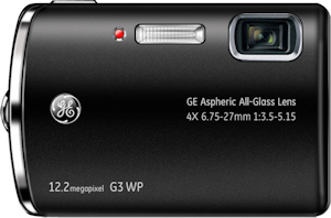 General Imaging's General Electric G3WP digital camera. Photo provided by General Imaging Co. Click for a bigger picture!