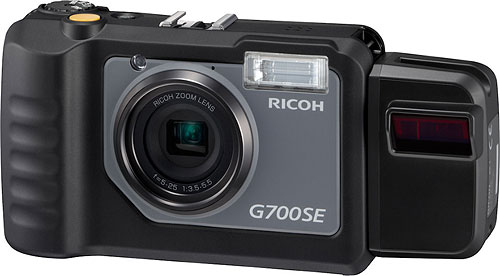 Ricoh's G700SE digital camera. Photo provided by Ricoh. Click for a bigger picture!