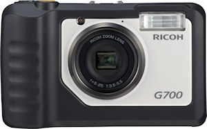 Ricoh's G700 digital camera. Photo provided by Ricoh Co. Ltd. Click for a bigger picture!