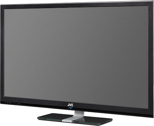 JVC's wide gamut GD-42X1 42-inch LCD monitor. Photo provided by JVC Professional Products. Click for a bigger picture!
