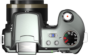 General Imaging's General Electric X3 digital camera. Photo provided by General Imaging Co. Click for a bigger picture!