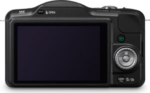 Panasonic's Lumix DMC-GF3 compact system camera. Photo provided by Panasonic Consumer Electronics Co. Click for a bigger picture!