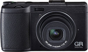 Ricoh's GR Digital IV digital camera. Photo provided by Ricoh Co. Ltd. Click for a bigger picture!