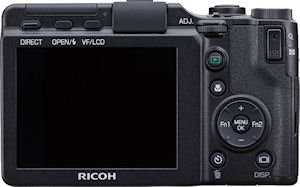 Ricoh's GXR digital camera. Photo provided by Ricoh. Click for a bigger picture!