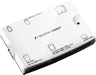 Silicon Power's Handy 33-in-1 card reader. Photo provided by Silicon Power Computer & Communications Inc.