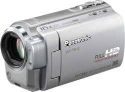 Panasonic's HDC-TM10 camcorder. Photo provided by Panasonic UK Ltd. Click for a bigger picture!