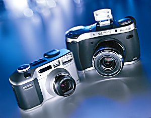 Hewlett Packard C-618 and C-912 Digital Cameras - click for a bigger picture!