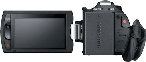 Samsung's H-Series digital camcorders. Photo provided by Samsung Electronics America Inc. Click for a bigger picture!