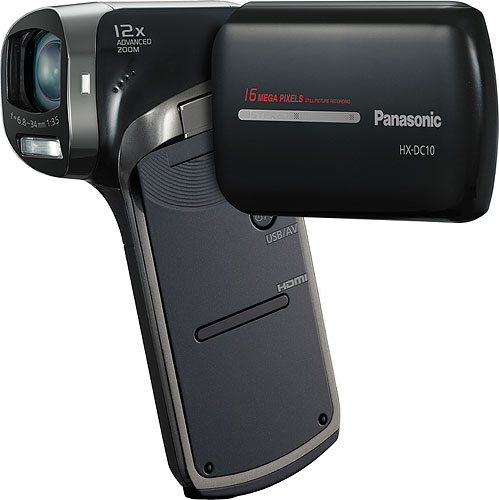 The Panasonic HX-DC10 Full-HD Camcorder. Photo provided by Panasonic Marketing Europe GmbH. Click for a bigger picture!