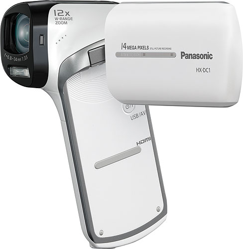 The Panasonic HX-DC1 Full-HD Camcorder. Photo provided by Panasonic Marketing Europe GmbH. Click for a bigger picture!