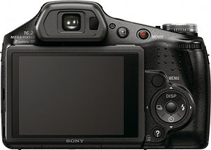 Sony's HX100V digital camera. Photo provided by Sony Electronics Inc. Click for a bigger picture!
