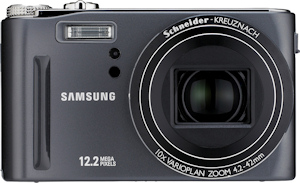 Samsung's HZ15W digital camera. Photo provided by Samsung Electronics America Inc. Click for a bigger picture!
