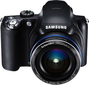Samsung's HZ25W digital camera. Photo provided by Samsung Electronics America Inc. Click for a bigger picture!