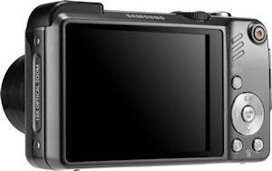 Samsung's HZ35W digital camera. Photo provided by Samsung Electronics America Inc. Click for a bigger picture!