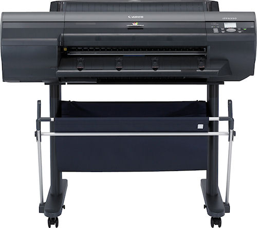 The imagePROGRAF iPF6350 large format printer. Photo provided by Canon USA Inc. Click for a bigger picture!