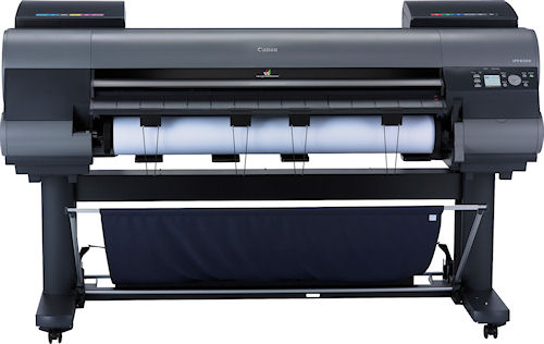 The imagePROGRAF iPF8300 large format printer. Photo provided by Canon USA Inc. Click for a bigger picture!