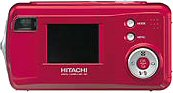 Hitachi's i.mega HDC-401 digital camera. Courtesy of Hitachi, with modifications by Michael R. Tomkins.
