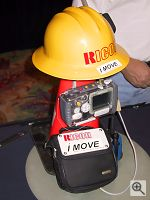 Ricoh's iMove system. Copyright © 2001, Michael R. Tomkins. All rights reserved. Click for a bigger picture!