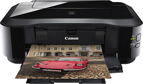 The Canon PIXMA iP4920 Inkjet Photo Printer. Photo provided by Canon USA Inc. Click for a bigger picture!