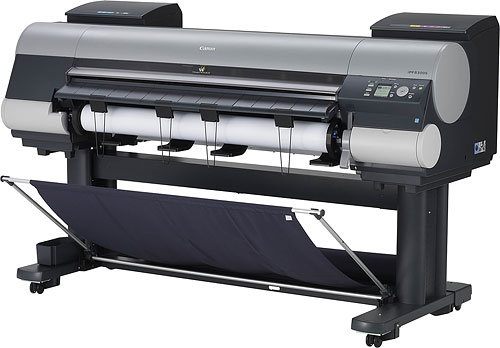 Canon's 44-inch imagePROGRAF iPF8300S large format printer. Photo provided by Canon USA Inc. Click for a bigger picture!