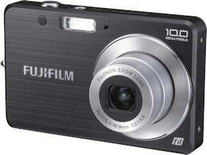 Fujifilm's FinePix J20fd digital camera. Photo provided by Fujifilm USA Inc. Click for a bigger picture!