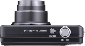 Fujifilm's FinePix J250W digital camera. Photo provided by Fujifilm USA Inc. Click for a bigger picture!