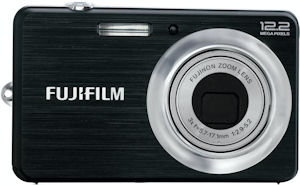 Fujifilm's FinePix J38 digital camera. Photo provided by Fujifilm USA Inc. Click for a bigger picture!