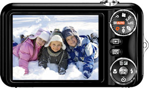 Fujifilm's FinePix JX280 digital camera. Photo provided by Fujifilm North America Corp. Click for a bigger picture!