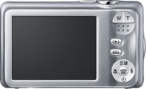 Fujifilm's FinePix JX370 digital camera. Photo provided by Fujifilm UK Ltd. Click for a bigger picture!
