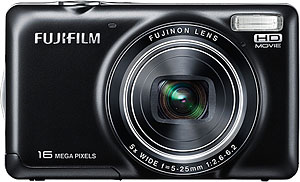 Fujifilm's FinePix JX420 digital camera. Photo provided by Fujifilm Corp. Click for a bigger picture!