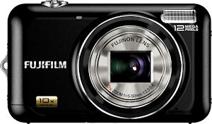 Fujifilm's FinePix JZ300 digital camera. Photo provided by Fujifilm North America Corp. Click for a bigger picture!