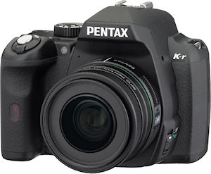 Pentax's K-r digital SLR. Photo provided by Pentax Imaging Co. Click for a bigger picture!
