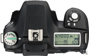 Pentax's K110D digital SLR. Copyright © 2006, The Imaging Resource. All rights reserved. Click for a bigger picture!