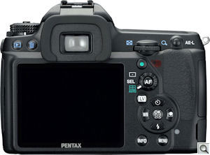 Pentax's K-7 single-lens reflex digital camera. Photo provided by Pentax Imaging Co. Click for a bigger picture!