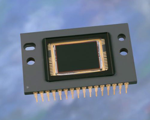 The Kodak KAI-2020 image sensor is a progressive scan, interline transfer CCD chip with 1.92 megapixel resolution, aimed at industrial and scientific usage. Photo provided by Eastman Kodak Co.