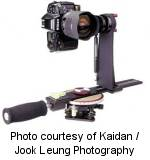 Kaidan's QPS-1 Quickpan Spherical tripod head. Photo courtesy of Kaidan / Jook Leung Photography.
