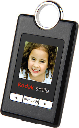 The Kodak Smile G150 Digital Photo Keychain. Photo provided by Sakar International Inc. Click for a bigger picture!